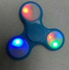 LED Light Fidget Tri-Spinner Focus Toys ABS Finger Ball For Kids/Adult SC NEW
