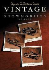 Vintage Snowmobiles Vol. 1 by Haynes Manuals Inc. Editors, Clymer Publications S