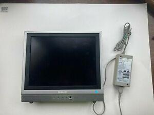 🕹️RARE Sharp Aquos LC-13S1U-S LCD 13 Liquid Crystal retro gaming TV vintage 👀⬇