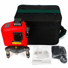 12 Lines 3D 360 Degree Self Leveling Laser Level Horizontal & Vertical Cross Set