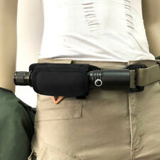 Flashlight Holder Tactical Light Pouch Holder 360 Degrees Rotatable Bag Tool
