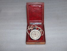 VINTAGE SLAVA STOPWATCH CHRONOMETER IN WOODEN BOX, USSR/RUSSIA