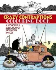 Crazy Contraptions Colouring Book,Arcturus Publishing,Excellent Book mon00001020