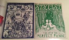 Rob Ryan - Stylist Magazines X2 – 30th June 2010 + 30th May 2012 Unused