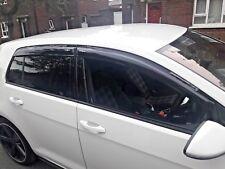 VW GOLF WIND DEFLECTORS & RAIN & SMOKE MK7 - 2013-2018 NEW 4 PIECE