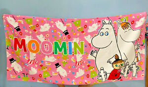 Japan Moomin Snufkin Towel Beach Towel Cotton 70*120  cute