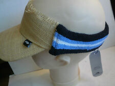 Pukka Visor Hat Sweat / Head Band Straw Cap Golf Bicycling New Unisex Adults