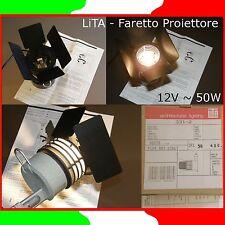 LiTA™ 331-2★FARETTO ALOGENO PROIETTORE SPOT 12V~50W 3FL★ARCHITECTURAL LIGHTING