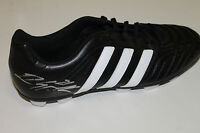 ESSENDON : DYSON HEPPELL SIGNED ADIDAS FOOTBALL BOOT UNFRAMED & C.O.A