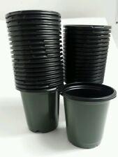 225 - 4 inch Round Green Nursery Pots Plastic plants pot flower Myers L & G