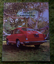 1971 Volkswagen VW Type 3 Sales Brochure 71