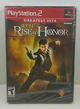 Jet Li Rise to Honor Greatest Hits Sony PlayStation 2 Brand New Factory Sealed