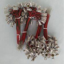 E10 Lampholder with Wire LED Bulbs Lamp Base Socket x10