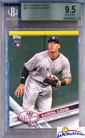 2017 Topps #NYY-16 Aaron Judge ROOKIE BGS 9.5 GEM MINT New York Yankees MVP?