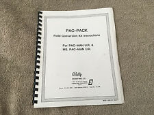Pac-Pack Field Conversion Kit Instructions