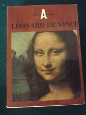 Livre LEONARD DE VINCI collection art et artistes Hatier  D2