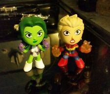 Funko Mystery Minis Marvel Collector Corps She-Hulk & Captain Marvel Loose