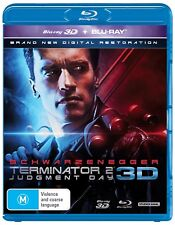 Terminator 2 Judgment Day 3D Edition Blu-ray Region B NEW