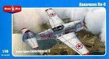 Lavochkin La-9 (chino, coreano y marcas de AF soviética) 1/48 mikromir