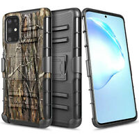 For Samsung Galaxy S20 Plus S20 Ultra Case Armor Belt Clip Holster Phone Cover