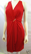 MICHAEL KORS V NECK  RED DRESS SIZE S new NEW WITH TAG