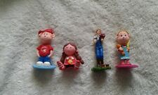 4  x  NEW NOVELTY CAKE TOPPERS (made in CLAYDOUGH & PLASTIC)----CULPITTT BRAND