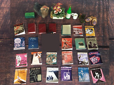 Lot of 20+ Dollhouse Miniature Sheet Music and Miscellaneous Books Accessories