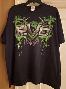 Rob Van Dam Shirt TNA IMPACT Wrestling Ying Yang Shirt, ECW WWE, Mint 🔥