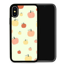 Pumpkin Fall - Protective Phone Case Cover fits iPhone SE 5 6 7 8 X 11 Pro Max