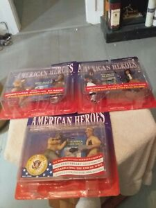 American  Heroes  Figures  Sealed