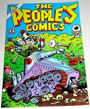 PEOPLE'S COMICS  by  ROBERT CRUMB MASTERPIECE - 1995 KITCHEN SINK