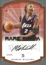 2003-04 SkyBox LE Rare Form Autographs 150 #23 Maurice Williams Auto/150