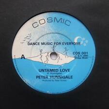 "PETER HUNNINGALE ""Untamed Love"" MEGA RARE ITALO BOOGIE FUNK 7"""