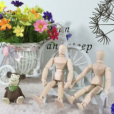11cm Wooden Figure Mannequin Artist Drawing Sketching Jointed Human Puppet