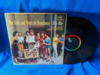 Billy May LP The Girls and Boys on Broadway Capitol T1418 Mono Sexy Cover