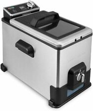 Emeril Deep Fryer With Oil Filtration System 4.3 Qt