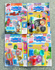 4 x PEPPA PIG MAGAZINE BACK ISSUES ~ NEW WITH GIFTS ~ ~