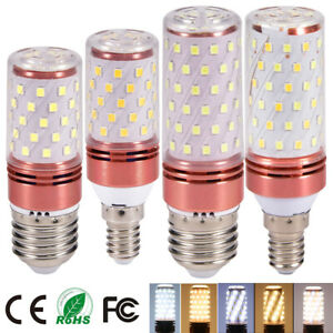 E27 E14 LED Bulb Corn Light Spotlight 9W 12W SMD2835 Cool Warm White Lamp