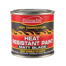 EVERBUILD HEAT RESISTANT PAINT 125ML TIN - MATT BLACK