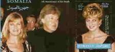 PRINCESS DI Memorial Sheet - Somalia - Paul McCartney