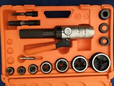 ⚠️👌 ALFRA 01758 Compact hand hydraulic punching set Tristar TRICUT Metric ⭐️