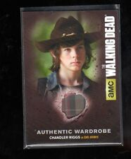 Walking Dead season 4 part 1 Authentic Wardrobe  Chandler Riggs card # M17