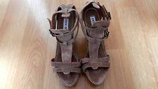 Pretty Steve Madden Brown Leather Sandal UK 6