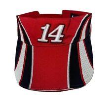 Tony Stewart NASCAR Racing Old Spice Visor Red Black White Chase Authentics