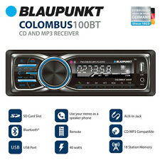Blaupunkt Columbus 100Bt Mp3 and Fm Stereo Receiver with Bluetooth (Clm100Bt)