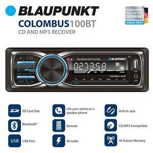 Blaupunkt Columbus 100BT MP3 and FM Stereo Receiver with Bluetooth (CLM100BT)