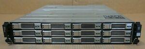 "Dell EqualLogic PS4100E 2U 12x 1TB 3.5"" HDD iSCSI SAN Array 2x Type 12 Ctrl"