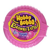 Hubba Bubba Gum Awesome Original Bubble Gum Tape, 2 Ounce Pack of 6