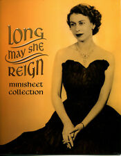 2015 Australia Long May She Reign Gold Minisheet Collection Ltd Edt 227 / 250