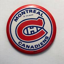 Large Montreal Canadiens Pin Vintage